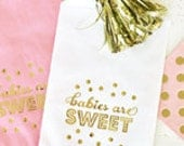 Babies Are Sweet Favor Bags - set of 12
