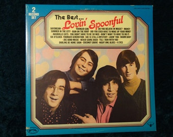 Vintage The Best of The Lovin Spoonful Vinyl Record Album Gate Fold 2 Record Set Magic Money Summer in the City Coconut Grove Daydream