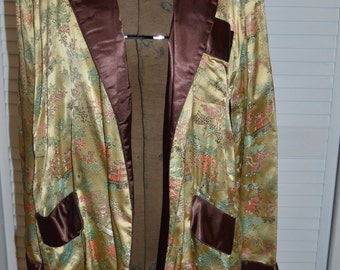 XL Oriental Smoking Jacket
