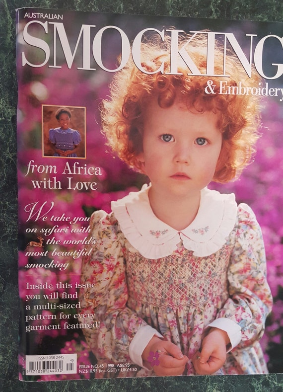 Australian Smocking and Embroidery Issue #28, AUTUMN, 1994