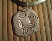 Men's Sterling Silver Necklace Pendant Handmade Vintage