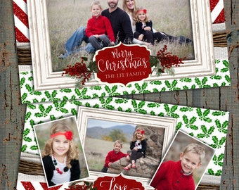 Glitter christmas cards, photo christmas cards, red glitter christmas cards, chevron christmas cards, glitter photo christmas cards