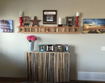 Saguaro Cactus Rib Wall Shelf