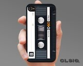 Retro Audio Cassette Tape Case for iPhone 6/6S, 6+/6S+, 5/5S, 5C, 4/4S, iPod Gen 5, Samsung Galaxy S6, Galaxy S5, Galaxy S4, Galaxy S3