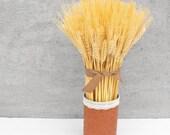 Dried Wheat Arrangement-Fall Floral Decor-Wheat Sheaf-Rustic Home Decor-Dried Floral Arrangement-Fall Centerpiece-Dried Wheat-Bearded Wheat