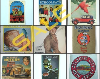 SALE .... Vintage Advertisement / Poster, Magazines, Books, Decals SHOP SECTION