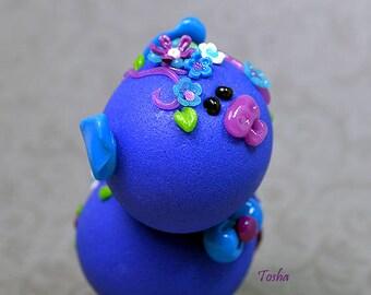 Tosha Polymer Clay Piglet