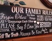 Horizontal Family Rules for Sevasti.