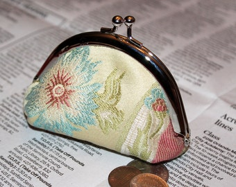 Floral Print - Recycled Coin Purse