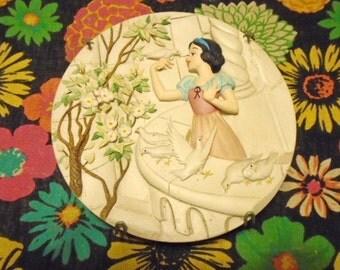 Disney Snow White Plate