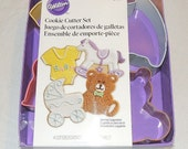 Wilton Baby Theme Cookie Cutters