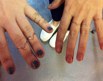 MIDI Ring WORKSHOP - Make Your Own Knuckle Rings, TruForm Jewelry Design Class, Jewellery Workshop, DIY Class, Mixed Metal Midi Rings