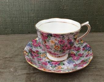 Royal Albert Bone China Teacup and Saucer