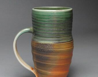 Clay Coffee Mug Beer Stein Soda Fired  D74