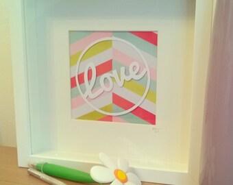 Love papercut