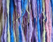 OOAK Elflocks SALE! Dreadfalls in Lilac, Blue, Pink, Pale Green for Cosplay, LARP, Clubbing, Tribal Belly Dance, Festivals, Alt Fashion