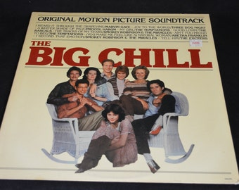 Vintage Vinyl Record BIG CHILL Original Motion Picture Soundtrack Album 6062-ML