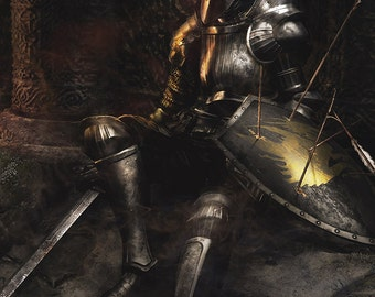 Demon's Souls Video Game Poster