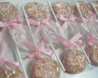 Oreo Pops Chocolate Covered Oreos Baby Showers Easter Wedding Favors Birthday Party