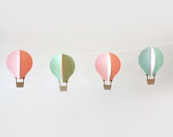 Garland Kit, Hot Air Balloons