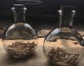 Glass Bone Jugs