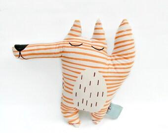 Stuffed animal cushion, Fox