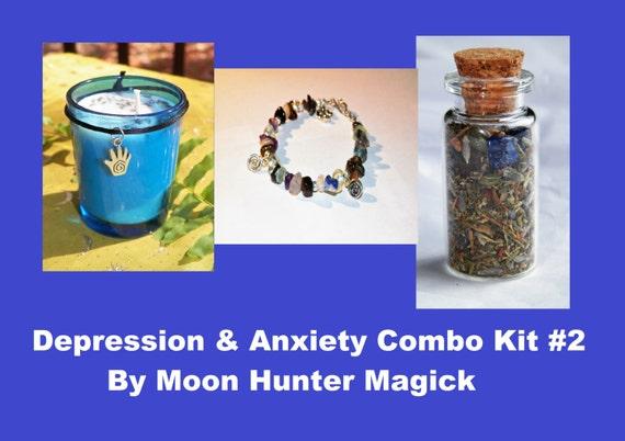 Depression & Anxiety Ritual Combo Kit#2 Depression Aromatherapy Kit
