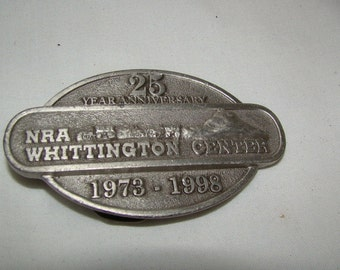 Vintage belt buckle 25th anniversary..FREE shipping!!