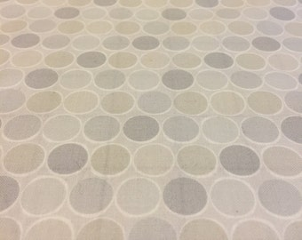 Classical Elements Grey Dots Fabric Pieces