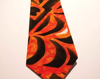 Summer Weight Cotton Necktie Hawaii
