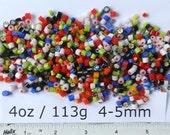 Millefiori 4oz Mixes: Mixed Colours 4-5mm