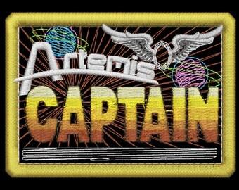 Artemis Captain Insignia Patch