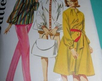 Uncut 1950s sz 14 Misses Sportswear pattern