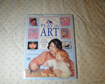 ON SALE  Book- A Child's Book of Play in Art