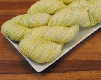 Georgianna on Mallorn, Merino/Silk/Stellina DK Weight Hand-dyed Yarn
