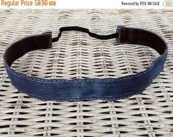 SALE Blue Denim Headband - Girls Fashion Headband