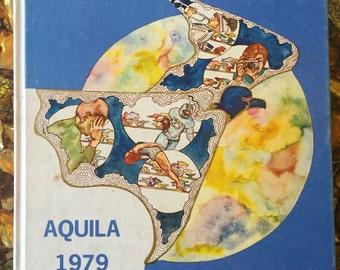 Hauppauge High School 1979 Aquila Yearbook!