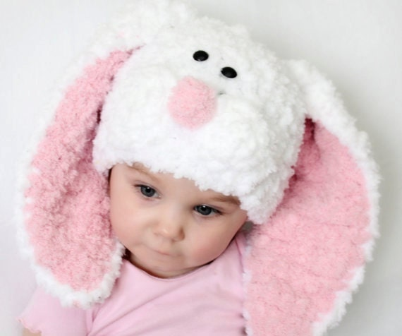 Easter Hat with Floppy Ears Crochet Pattern