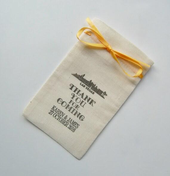 Destination Wedding Gift Bags: Destination Wedding Welcome Bags-Wedding Favor Bags-Muslin