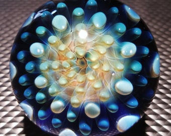 Hand Made Blown Glass Marble by Jason Holley