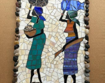 Mosaic wall hanging 14-24