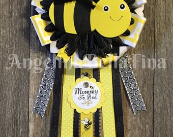 NEW Bumble Bee Mommy To Bee Corsage