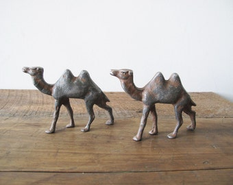 Pair of Walking Camels