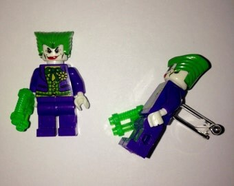 Superhero Lego Cufflinks - The Joker