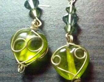 GD2 Dangle Earrings