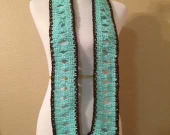 Mint Chocolate Chip Scarf