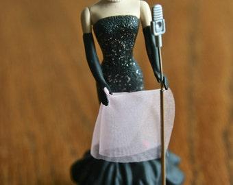 Vintage Barbie Ornament Solo in the Spotlight