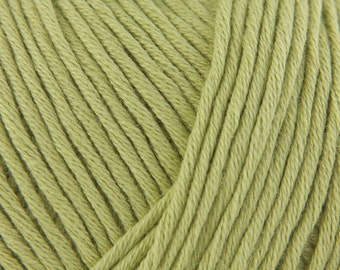 Debbie Bliss Eco Baby 50g Shade 06 Apple Baby Cotton Yarn Organic