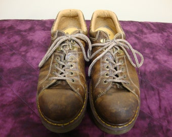 Vintage Dr Martens Oxford Style Lace Ups Size 13 Mens