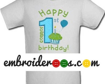Happy Cupcake! Birthday Shirt or Onesie